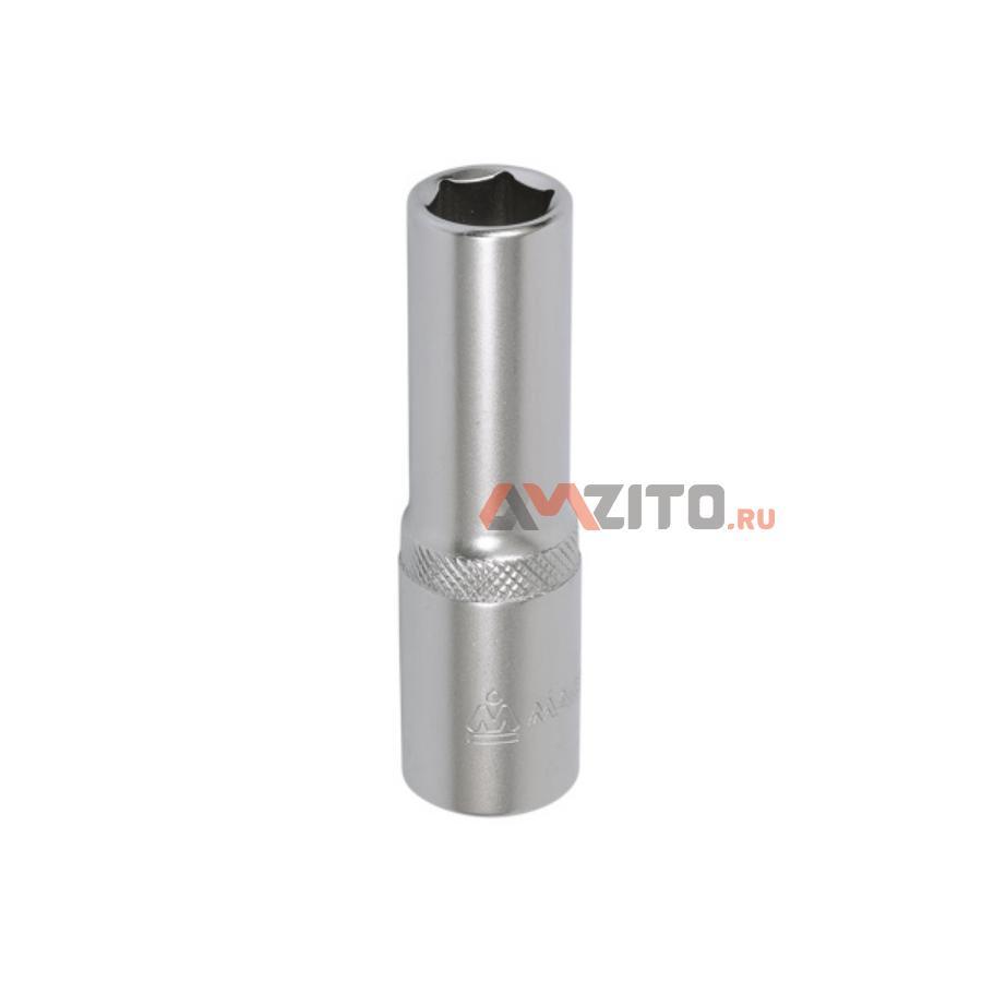 """Головка торцевая глубокая шестигранная 1/2"""", 08 мм МАСТАК 001-40008"""