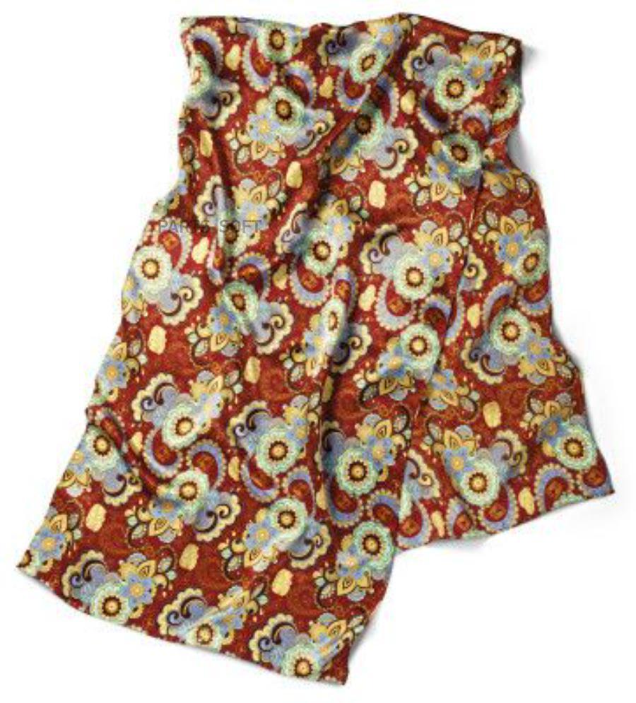 Шейный платок Volkswagen Ladies Silk Scarf Multi Colored