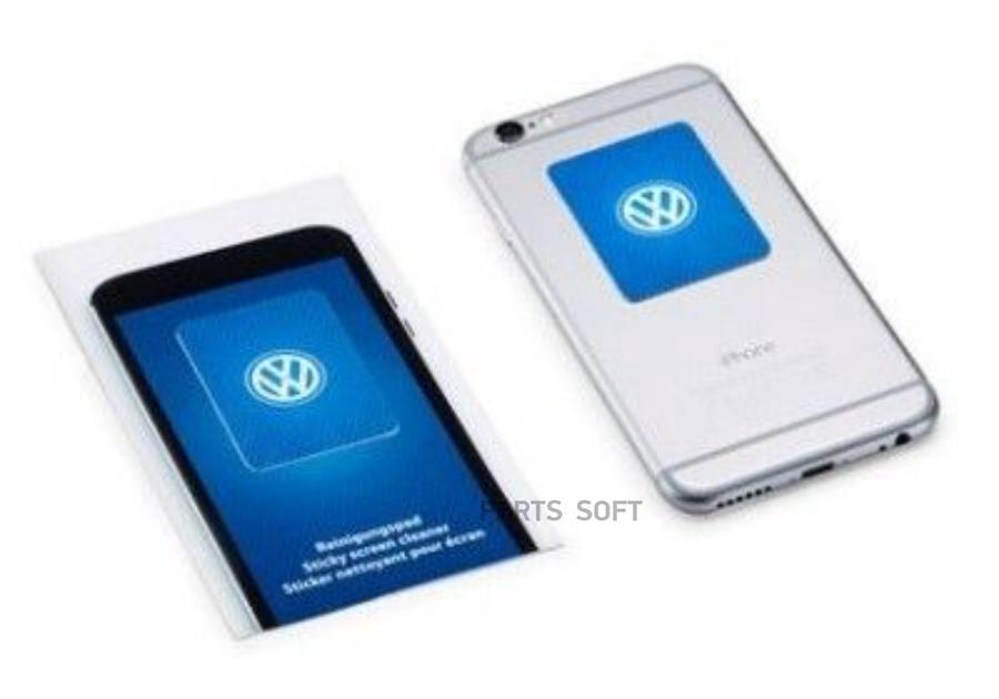 Салфетка Volkswagen для очистки дисплея смартфона
