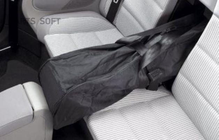 Чехол для перевозки лыж Volkswagen Ski Bag Black