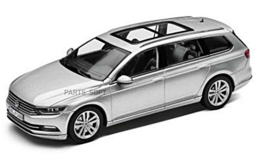 Модель автомобиля Volkswagen Passat Estate Scale 1:43 Reflex Silver Metallic