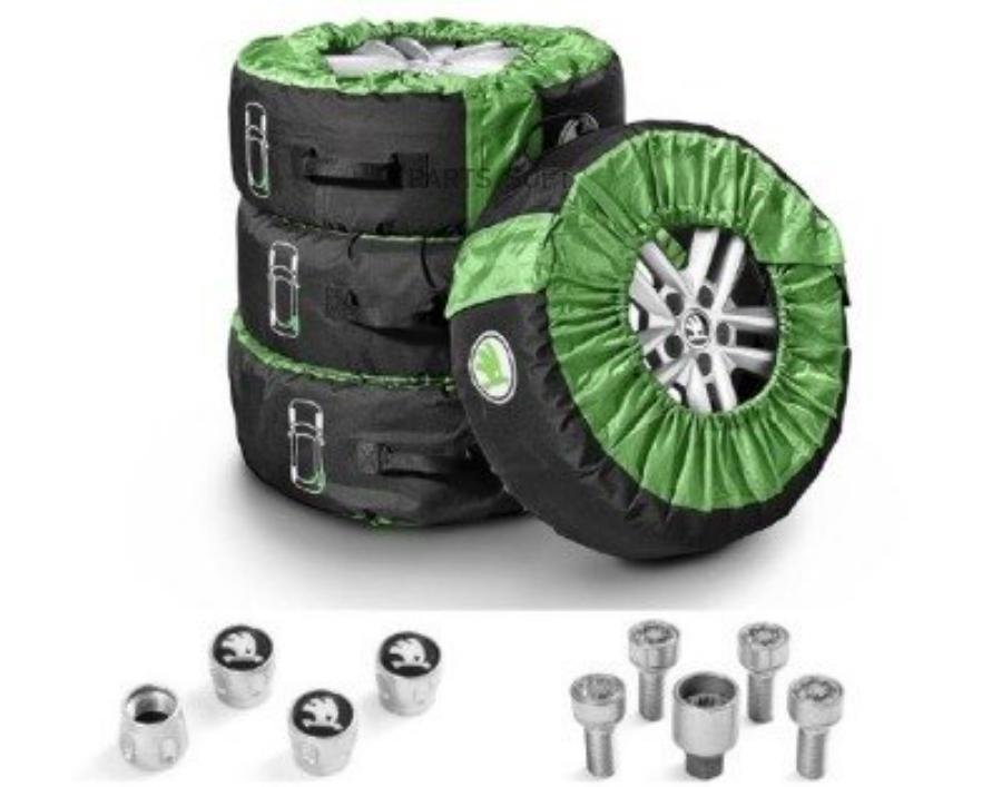 Пакет аксессуаров забота о колесах