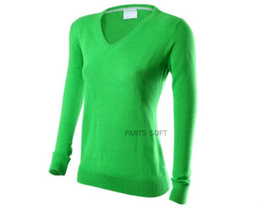 Пуловер женский зеленый M