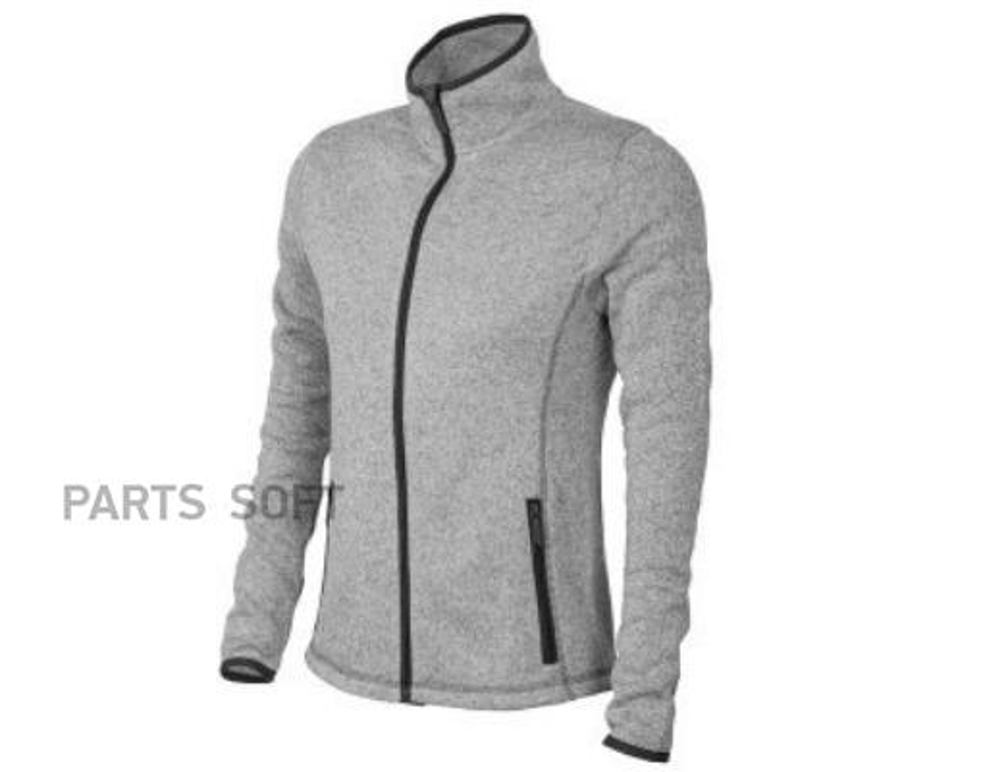 Женский свитер на молнии Skoda WoMens Sports Sweater Grey