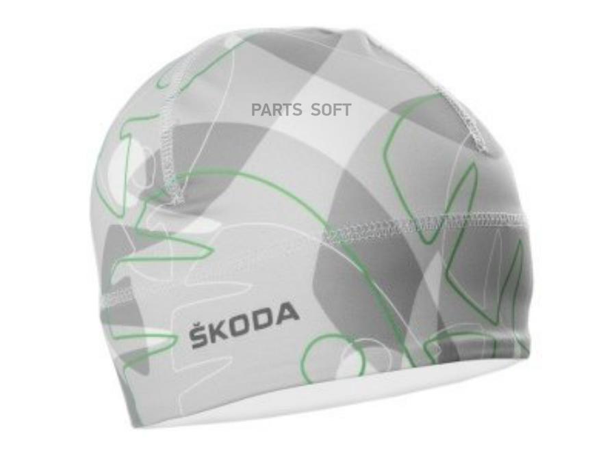 Тонкая спортивная шапка Skoda L