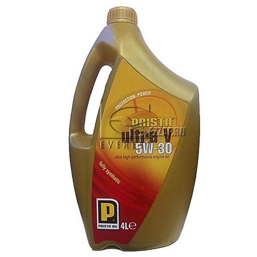 INV20457 Моторное масло PRISTAULTRAVсинт, 5W30, 4л./4 шт. VW 504 00/507 00, ACEAC3,APISN, BMWLongl, шт