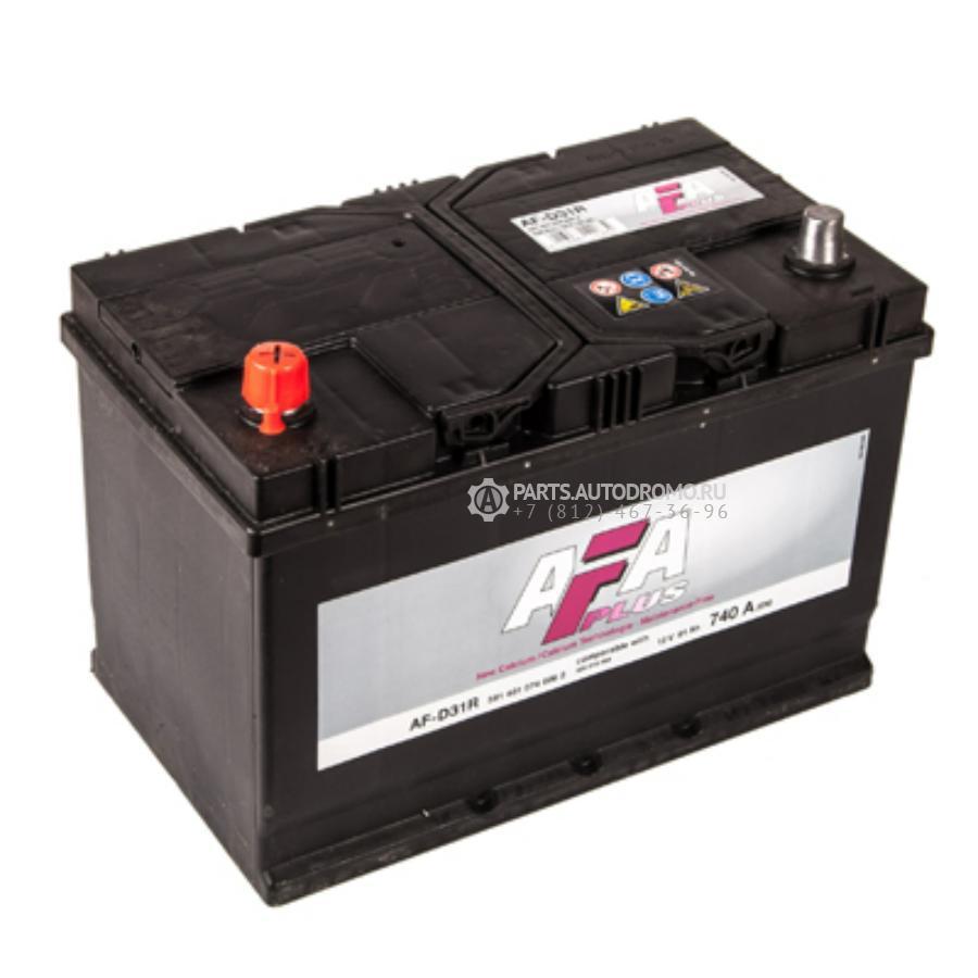 Аккумулятор AFA 91 А/ч 591401 AF выс EN 740