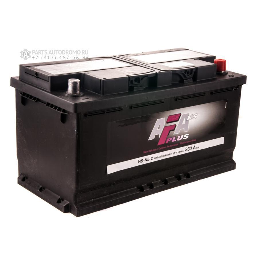 Аккумулятор AFA 100 А/ч 600402 HS ОБР EN 830