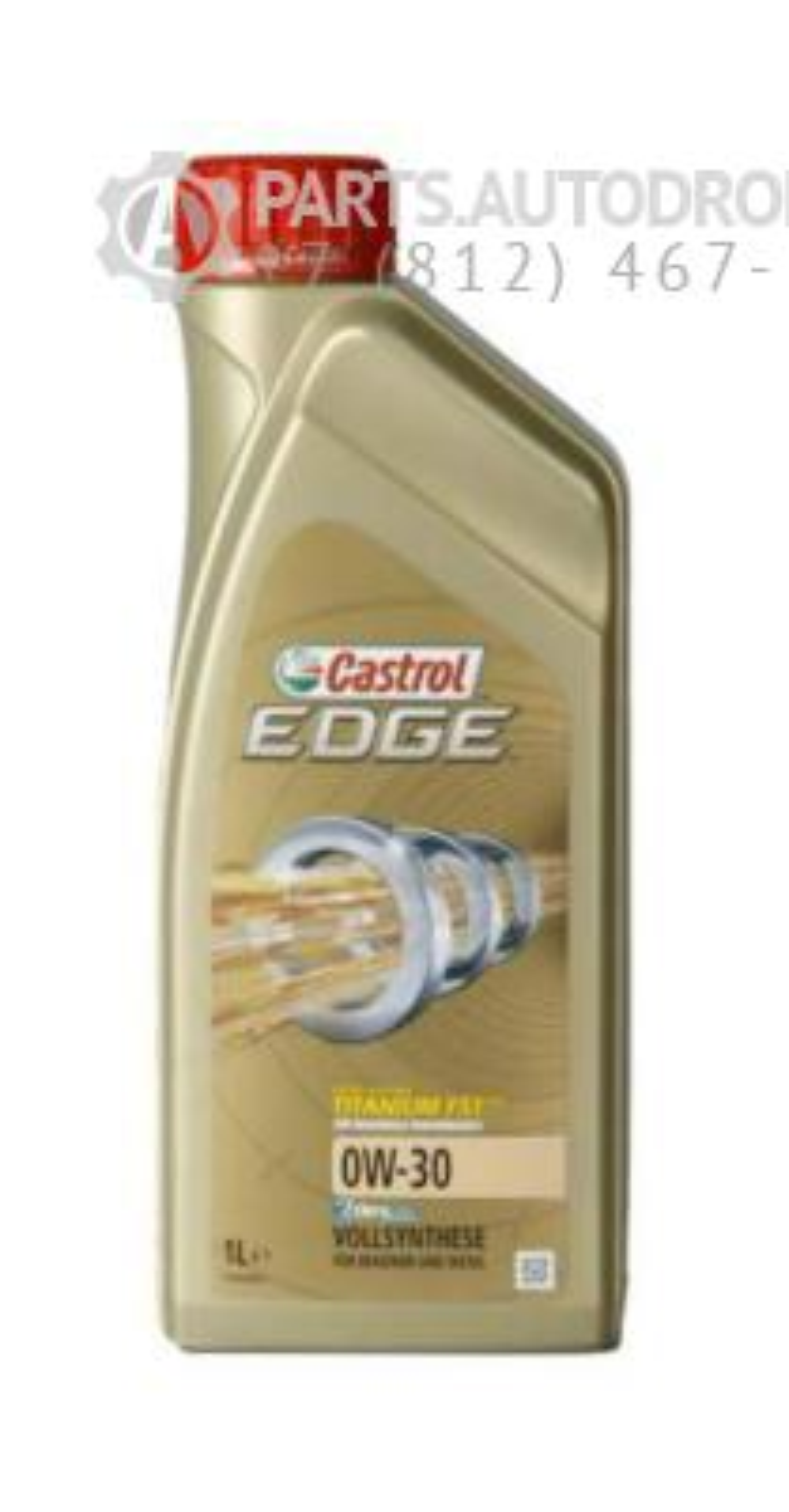 Масло моторное синтетическое EDGE A5/B5 Titanium FST 0W-30, 1л