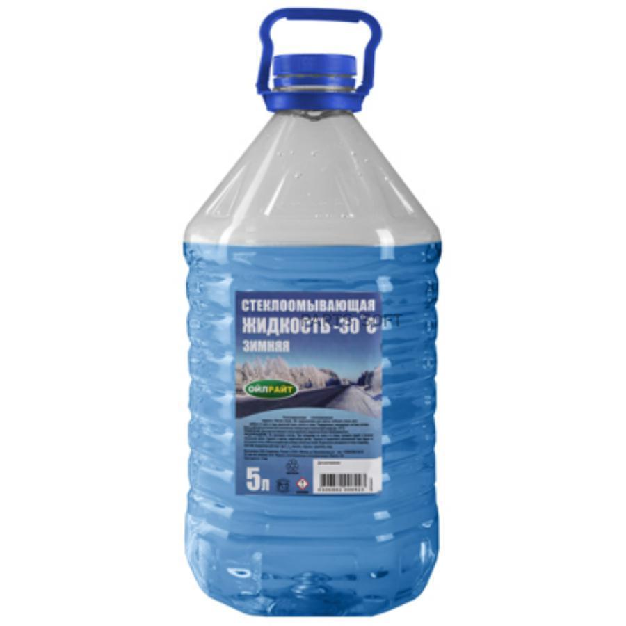 Стеклоомывающая жидкость -30 5л ПЭТ изопр.