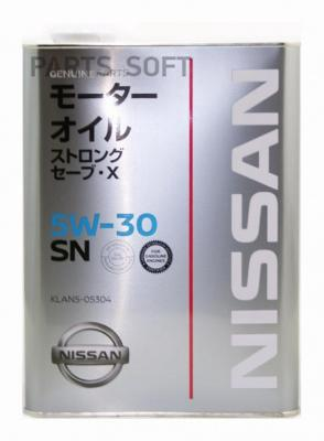 МАСЛО МОТОРНОЕ CHEMPIOIL NISSAN STRONG SAVE-X 5W-3