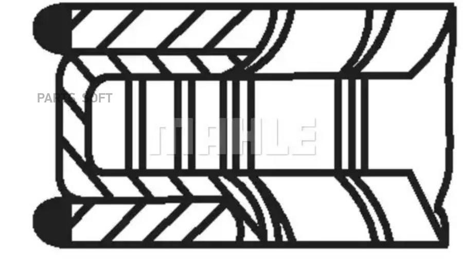 Комплект колец (1 цилиндр)