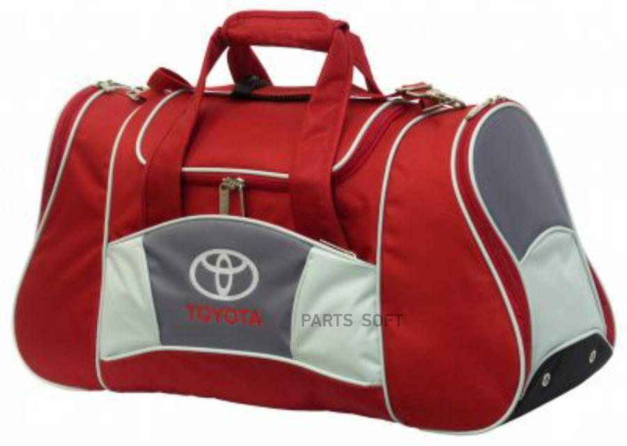 Спортивная сумка Toyota Sports Bag Red
