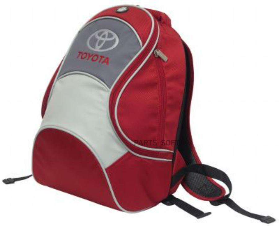 Рюкзак Toyota City Backpack Red-Grey