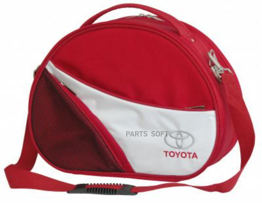 Овальный кейс Toyota Ladie's Travel Case Red-Grey
