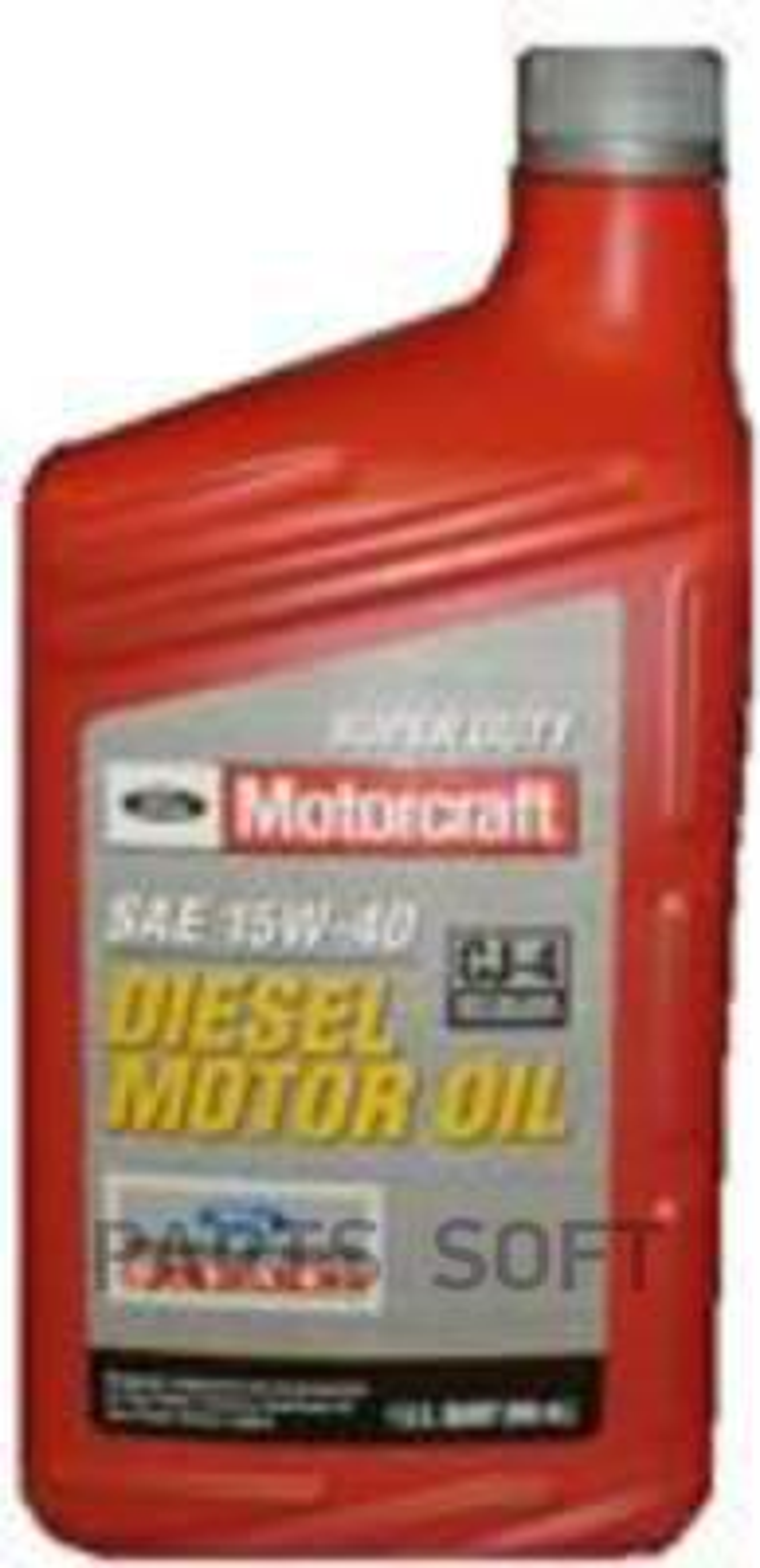 Масло моторное минеральное Super Duty Diesel Motor Oil 15W-40, 1л