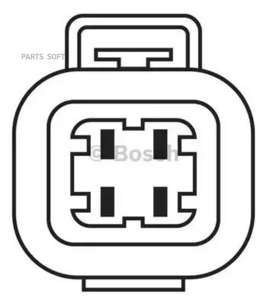 Датчик кисл. для а/м Hyundai Accent, Getz, KIA Cerato, Rio (VS-OS 08900)