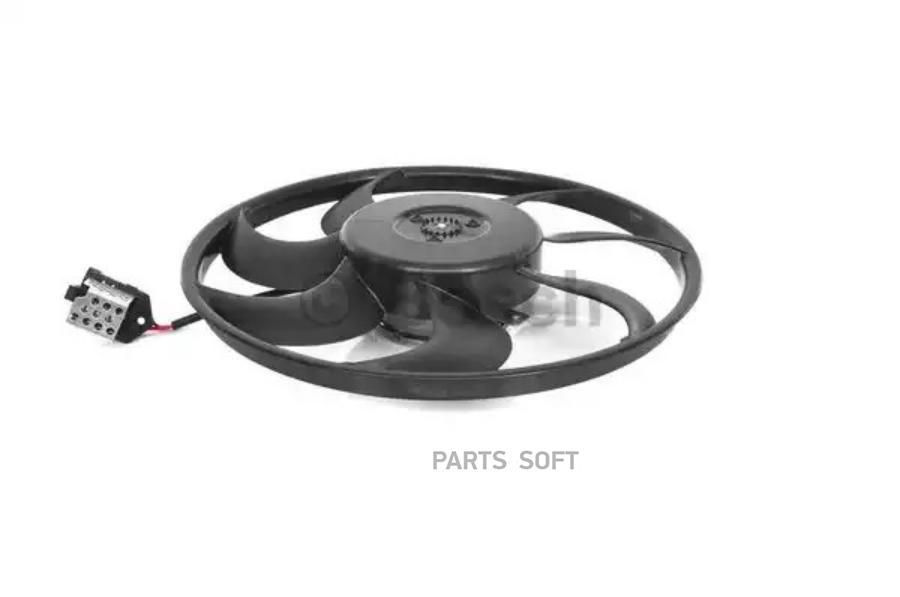 Электродвигатель вентилятора радиатора