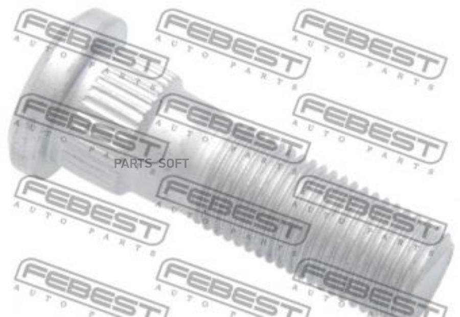Шпилька колесная NIS M12*1,25 mm*46 mm