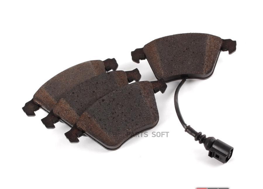 VAG Audi Колодки тормозные, комплект, передние