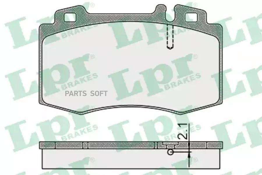 Колодки LPR 05P899