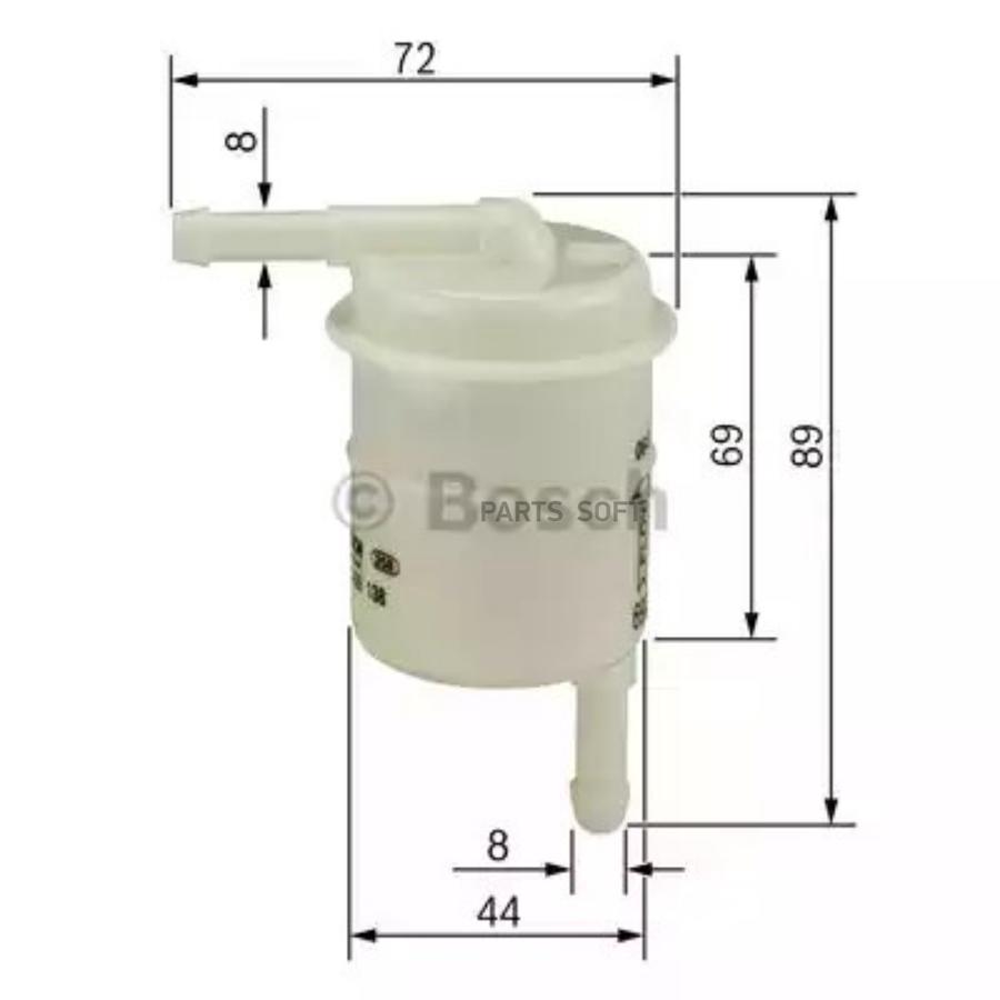 Фильтр топливный BOSCH 0986450016 (FC313)