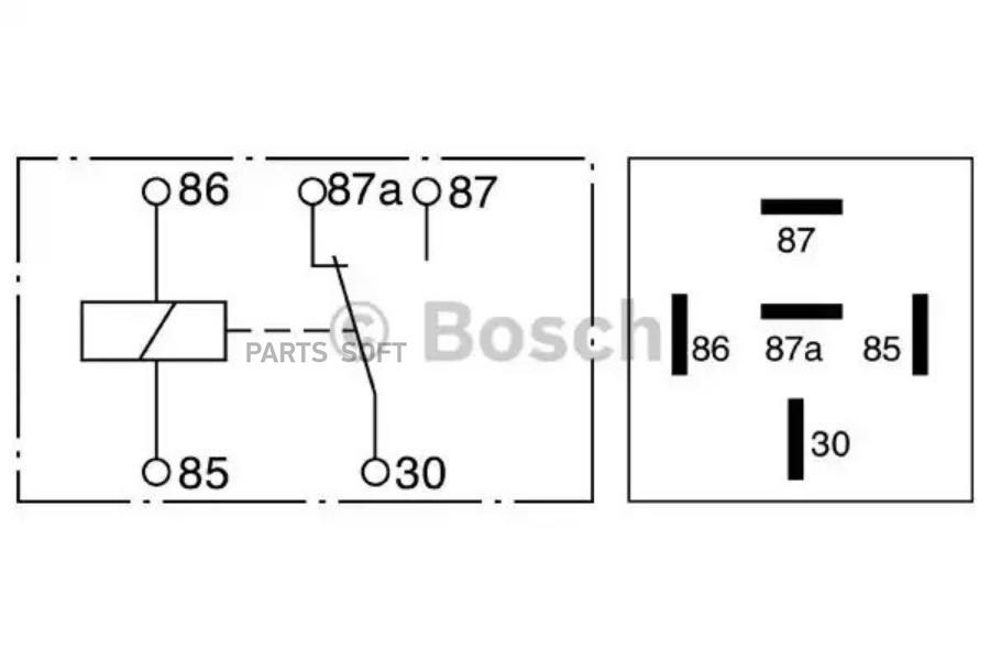 Реле Bosch 0332209211