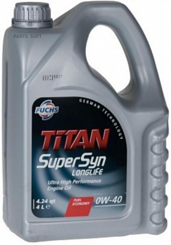 FUCHS Titan Supersyn LONGLIFE 0W-40