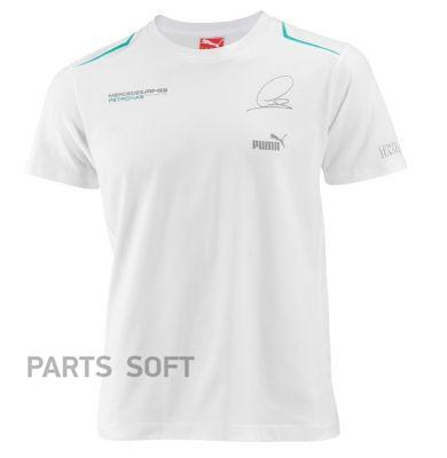 Мужская футболка Mercedes-Benz F1 Lewis Hamilton T-Shirt