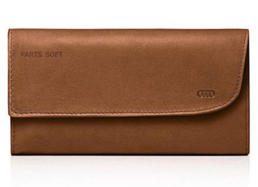 2daa27d410e3 VAG Женский кошелек Audi Women's purse Poltrona Frau Cognac Agatha