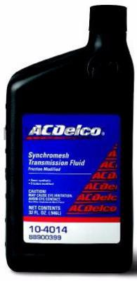 AC DELCO Synchromesh Transmission Fluid Friction Modified
