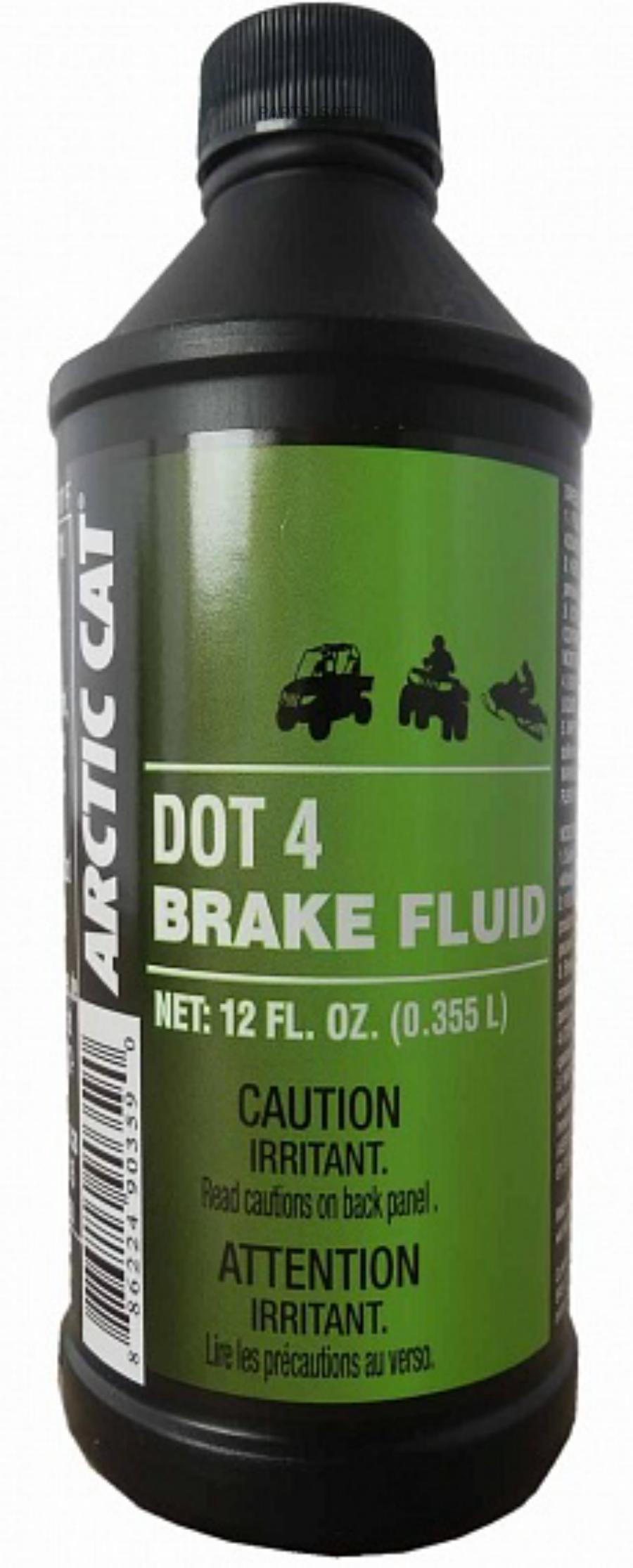 Жидкость тормозная dot 4, 'BRAKE FLUID', '0,355л