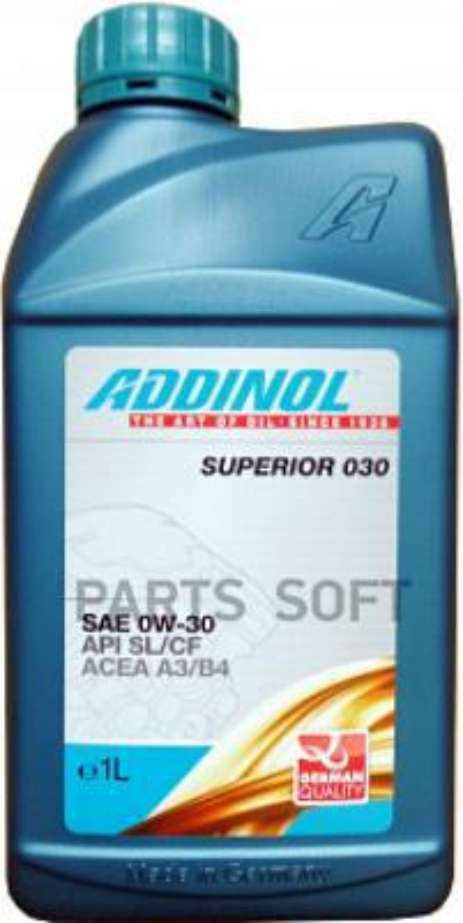 Масло моторное синтетическое Superior 030 0W-30, 1л