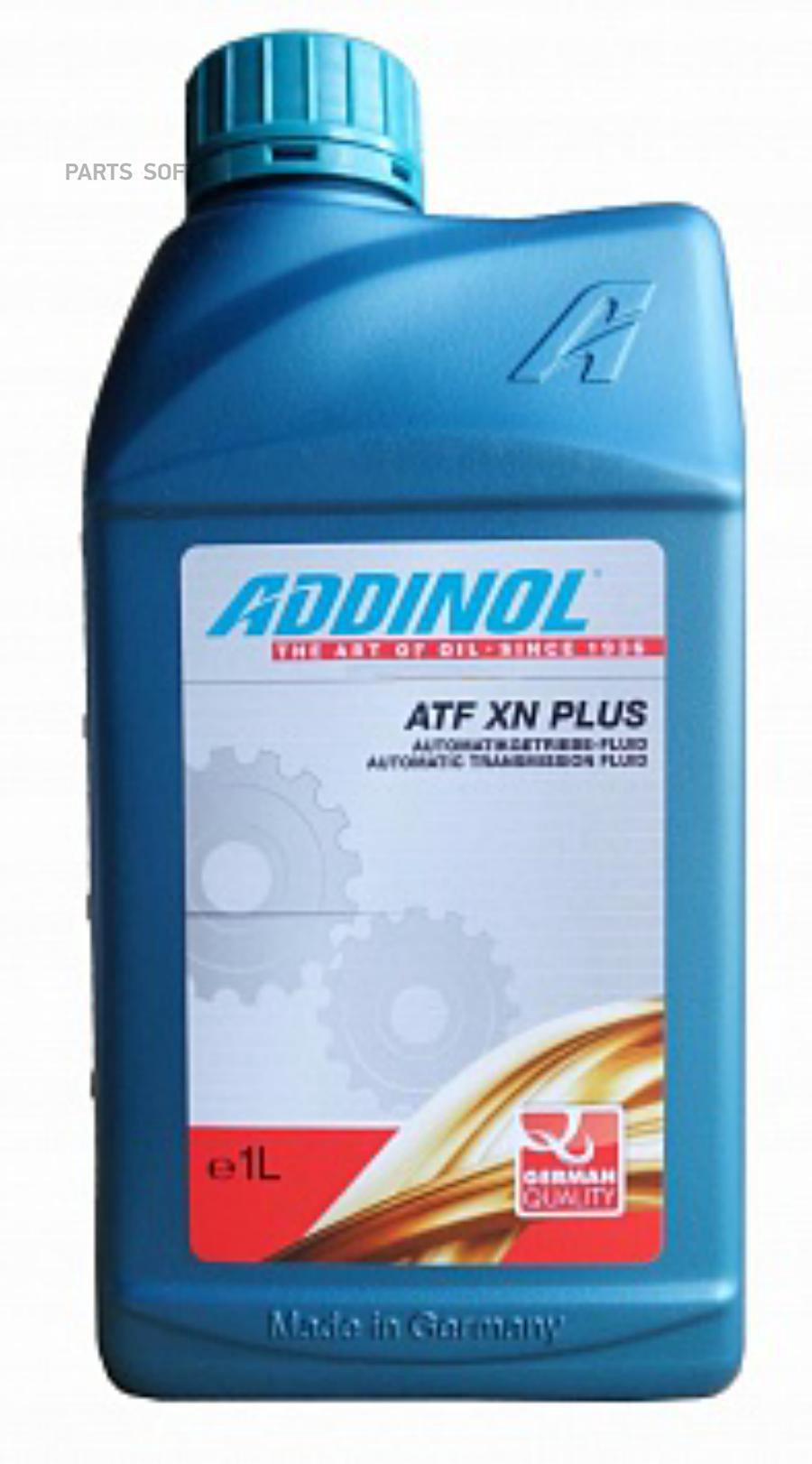 Масло трансмиссионное синтетическое ATF XN Plus, 1л