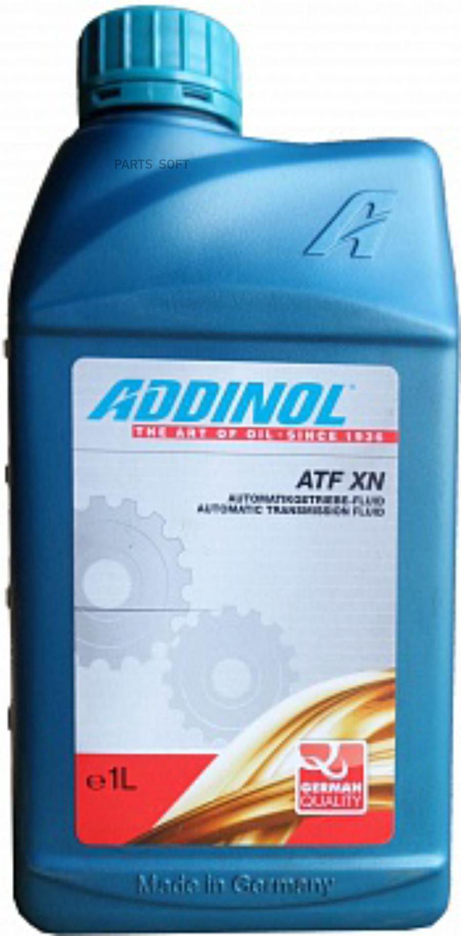 Масло трансмиссионное синтетическое ATF XN, 1л