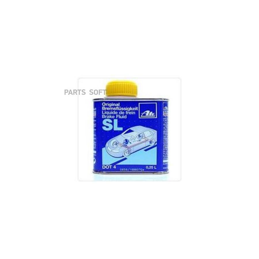 Жидкость тормозная dot 4, 'Brake Fluid SL', '0,25л