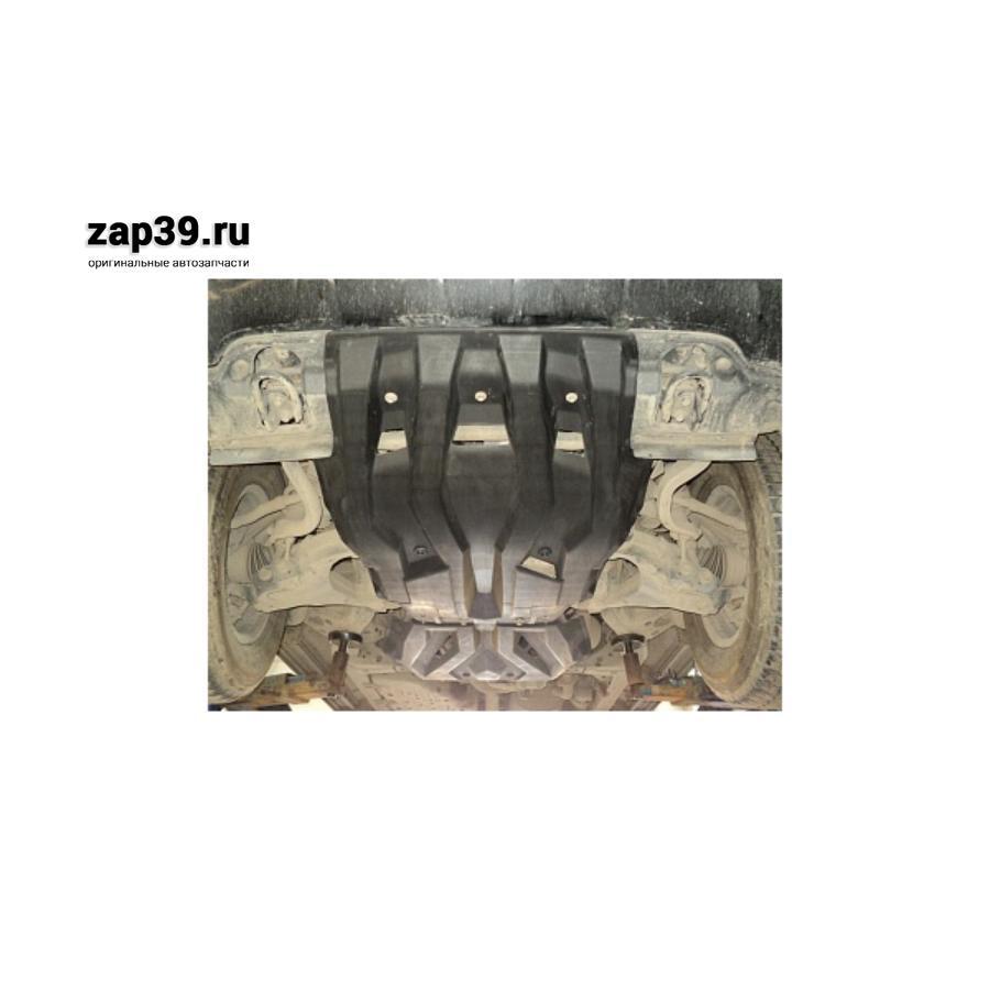 Защита картера TLC 200 (2008+) + КПП+РК (композит 10 мм)