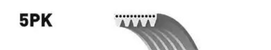 Ремень ручейковый 5PK708