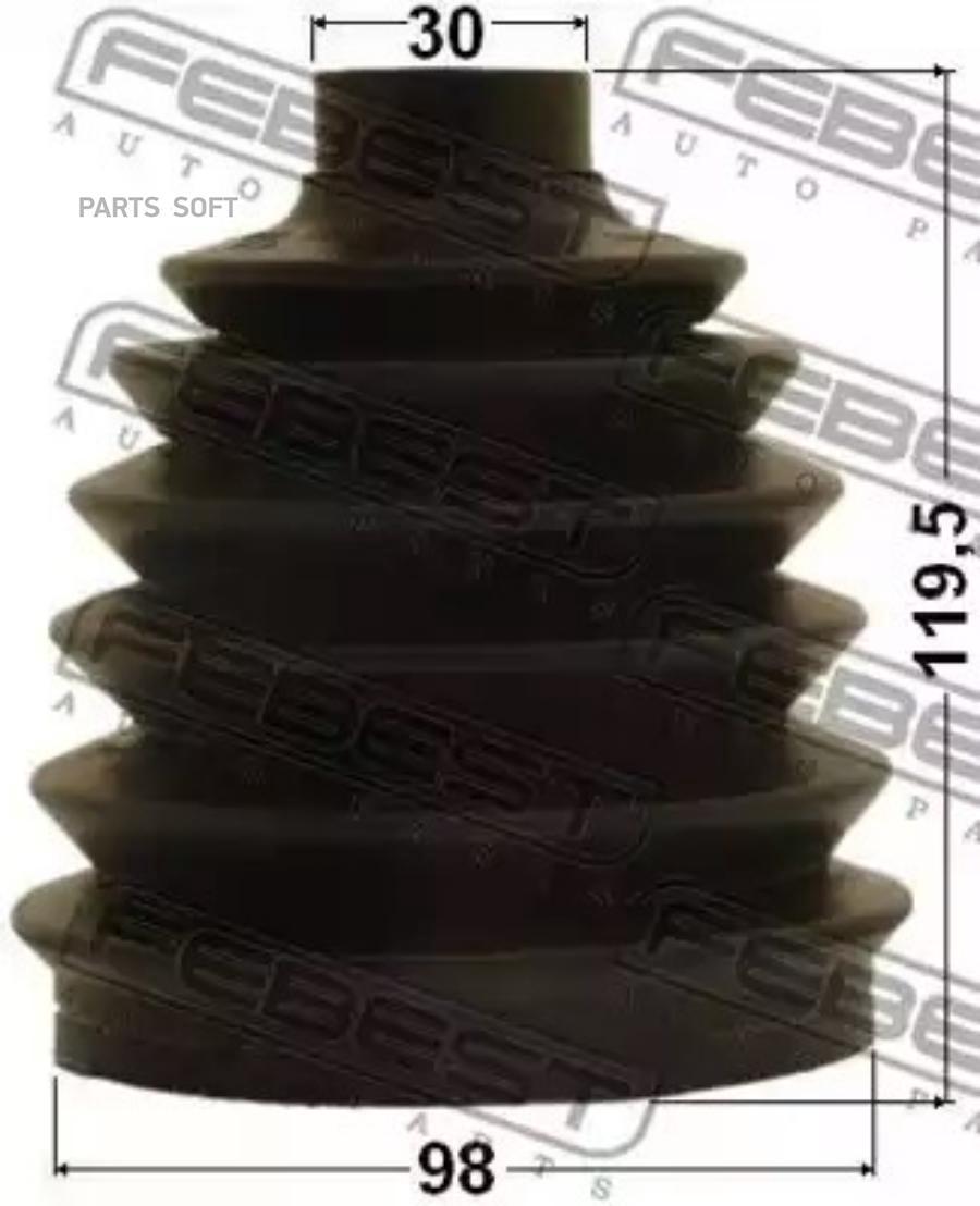 Пыльник ШРУСа внешнего (комплект)