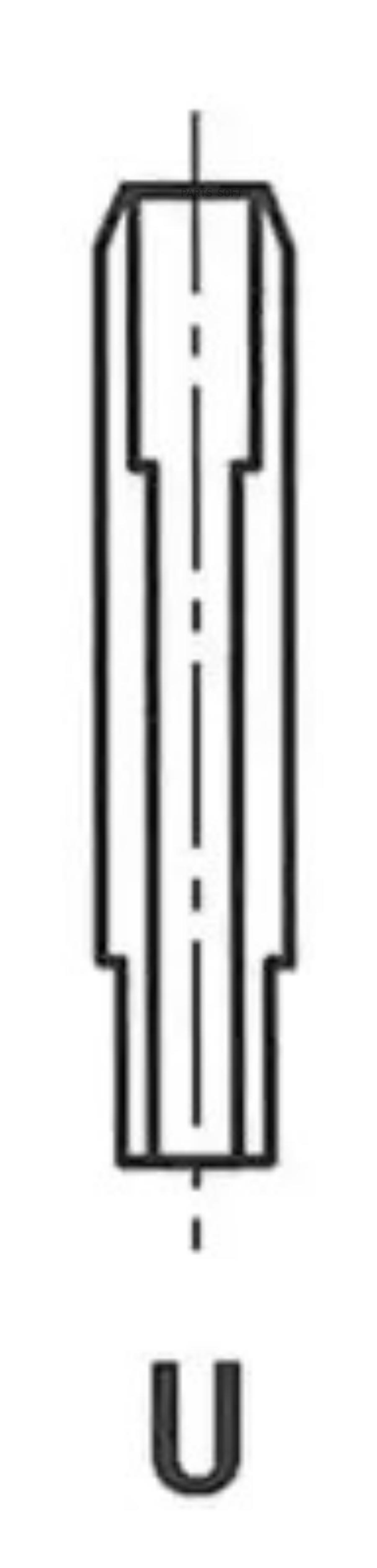 Направляющая втулка клапана
