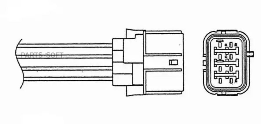 Датчик кислородный универсальный LZA09E1