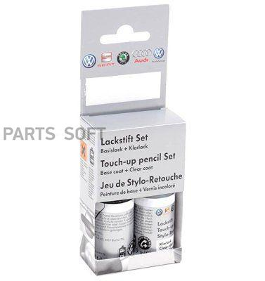 Краска-карандаш Skoda Touch-up Paint Pencil Candy White