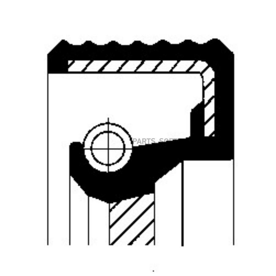 Уплотняющее кольцо, ступенчатая коробка передач; Уплотнительное кольцо вала, приводной вал (масляный насос)