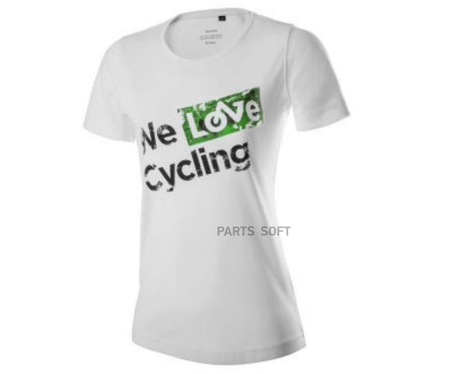 Женская футболка Skoda Womens T-Shirt We love cycling White