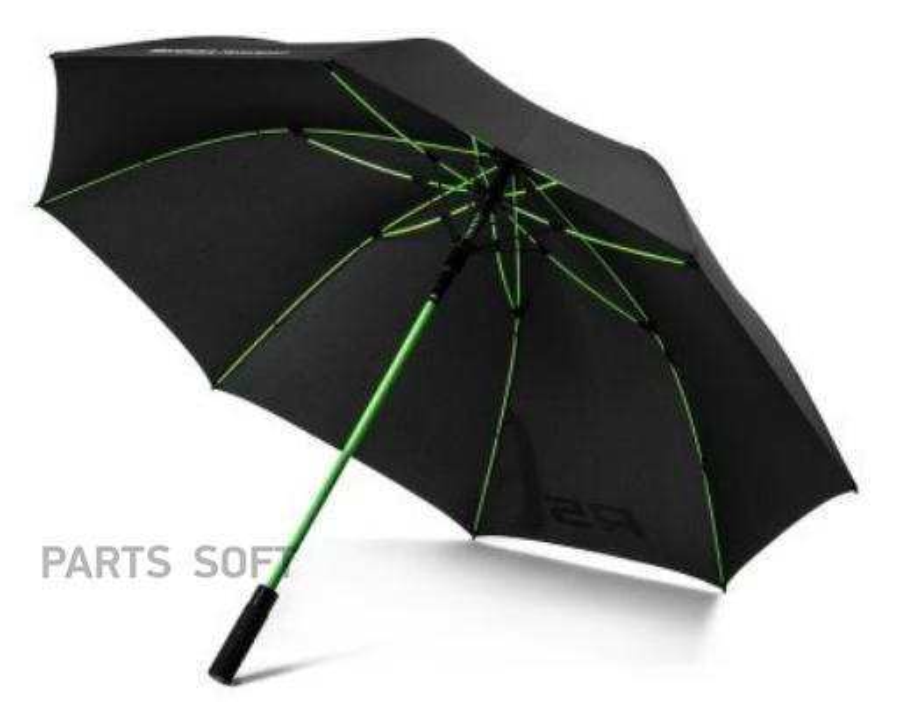 Зонт-трость Skoda Motorsport Umbrella Black/Green