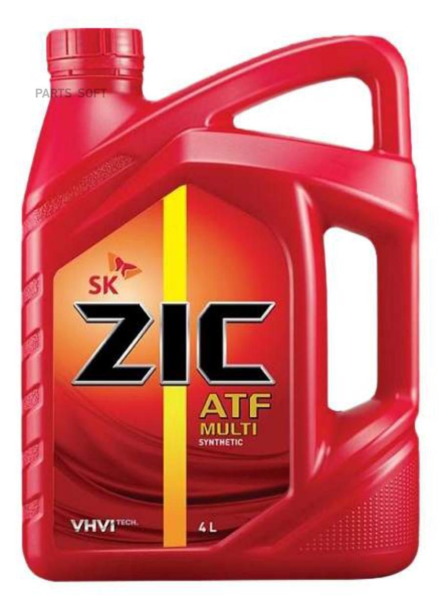 Масло трансмиссионное синтетическое ATF Multi, 4л