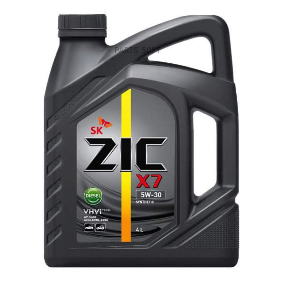 Масло моторное синтетическое X7 Diesel 5W-30, 4л