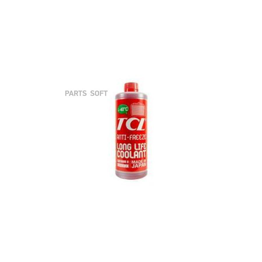 АНТИФРИЗ TCL LLC -40C КРАСНЫЙ, 1 Л