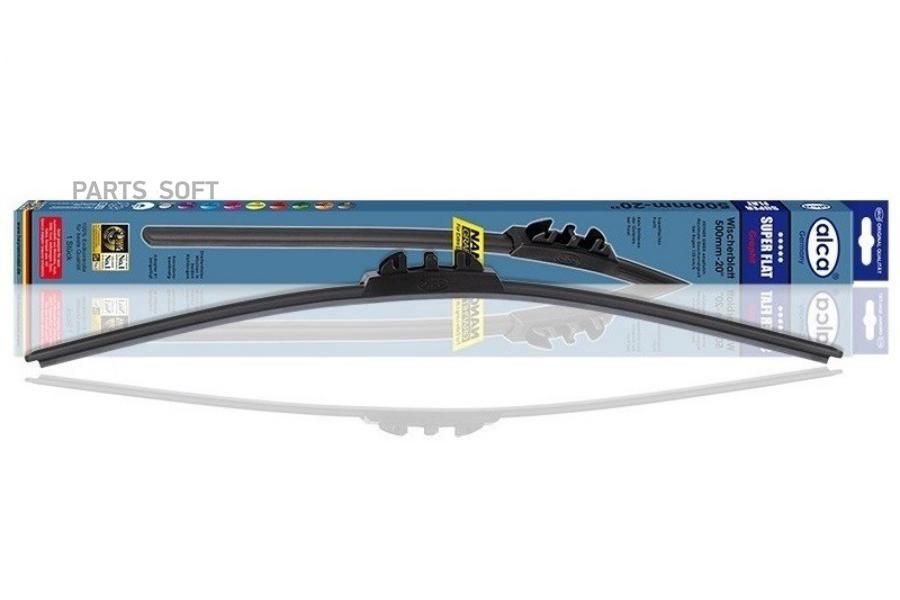 Щетка с/оч. FR 15/380mm (бескаркасная) SUPER FLAT