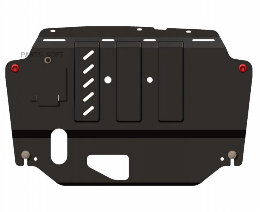 Защита картера Elantra 07- ,i30 08- ,Ceed 07- ,Cerato 09- ДВС